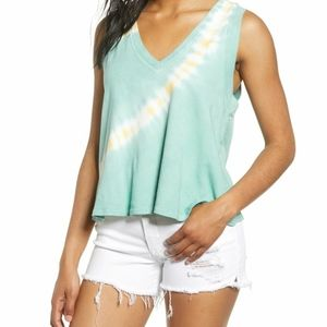 Cropped tie dye tshirt by Project Social T